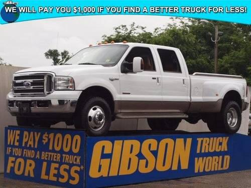 2006 ford f 350 king ranch crew cab dually powerstroke diesel for sale in sanford florida. Black Bedroom Furniture Sets. Home Design Ideas