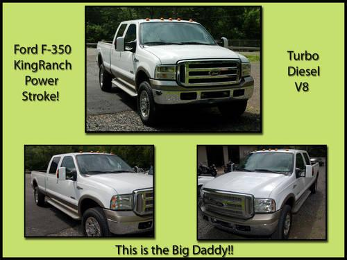 2006 Ford F-350 King Ranch Power Stoke Turbo Diesel
