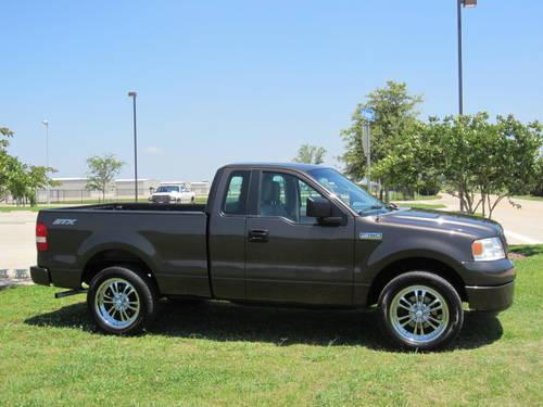 2006 ford f150 stx single cab auto 1 owner v6 rims mini rear doors for sale in houston texas. Black Bedroom Furniture Sets. Home Design Ideas
