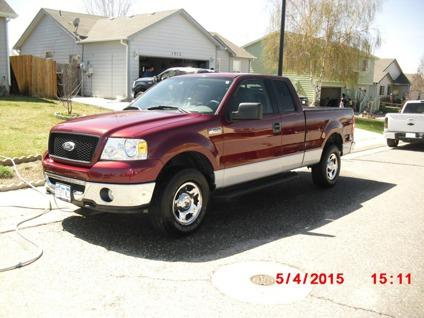 2006 ford f150 supercab xlt 4x4 pick up for sale in fort lupton colorado classified. Black Bedroom Furniture Sets. Home Design Ideas