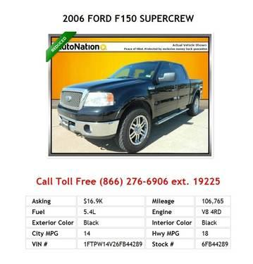 2006 Ford F150 Supercrew Silver