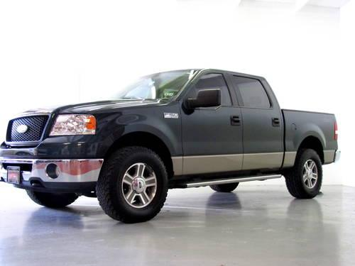 2006 ford f150 xlt supercrew 4wd triton green auto 105k miles for sale in rockwall texas. Black Bedroom Furniture Sets. Home Design Ideas
