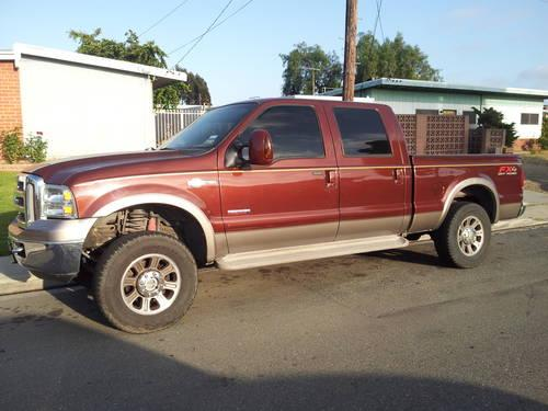 2006 ford f250 king ranch diesel for sale in chula vista california classified. Black Bedroom Furniture Sets. Home Design Ideas
