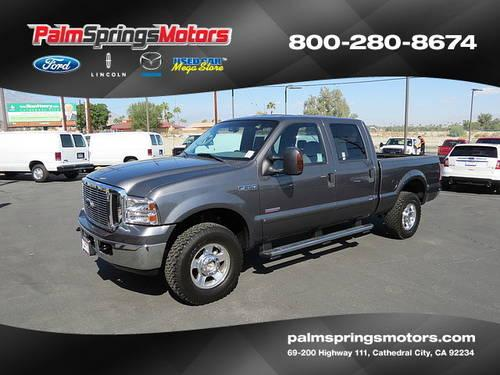 2006 ford f250 super duty crew cab lariat pickup 4d 6 3 4 ft for sale in cathedral city