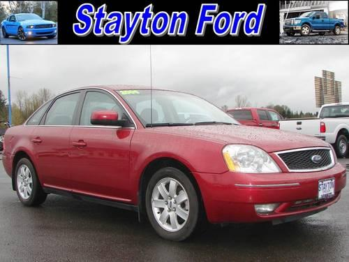 2006 ford five hundred sedan sel for sale in aumsville oregon classified. Black Bedroom Furniture Sets. Home Design Ideas