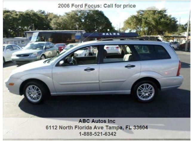 2006 Ford Focus Station Wagon Your Job Is Your Credit For
