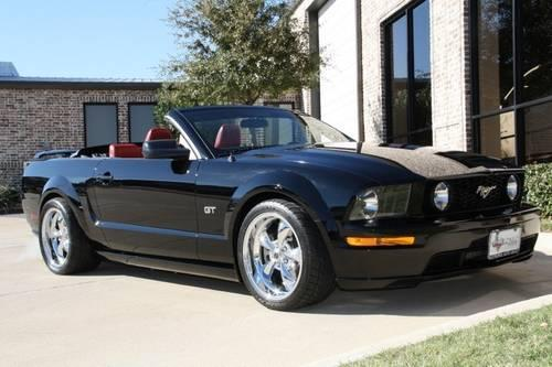 2006 ford mustang convertible gt convertible for sale in addison texas classified. Black Bedroom Furniture Sets. Home Design Ideas