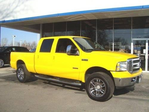 2006 Ford Super Duty F 250 Crew Cab Pickup Amarillo for
