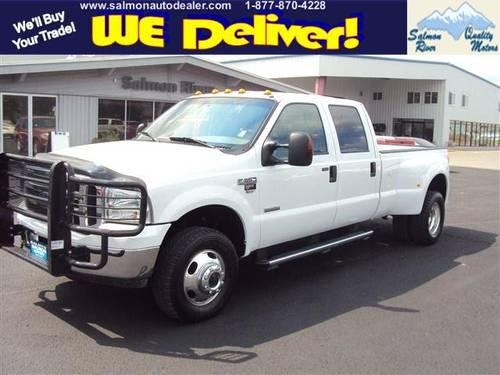 2006 ford super duty f 350 drw crew cab pickup lariat dual for sale in baker idaho classified. Black Bedroom Furniture Sets. Home Design Ideas