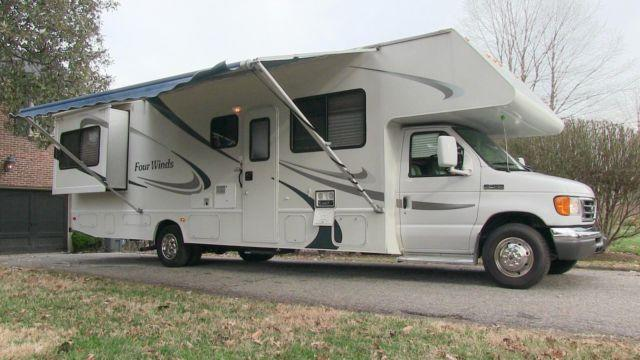 2006 four winds chateau 31f used class c motorhome for Used class c motor home
