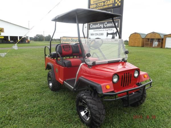 2006 Gas Jeep Club Car Golf Cart For Sale In Owosso