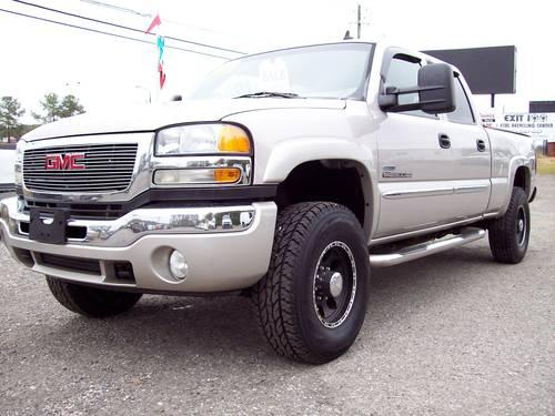 2006 gmc 2500hd crew cab slt duramax 4x4 for sale in lake view alabama classified. Black Bedroom Furniture Sets. Home Design Ideas