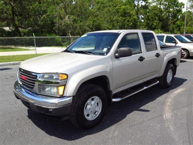 2006 gmc canyon crew cab 2wd sle2 for sale in brooksville florida classified. Black Bedroom Furniture Sets. Home Design Ideas