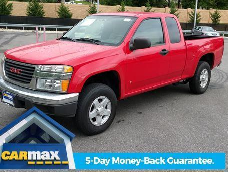 2006 gmc canyon sl sl 4dr extended cab 4wd sb for sale in lynchburg virginia classified. Black Bedroom Furniture Sets. Home Design Ideas