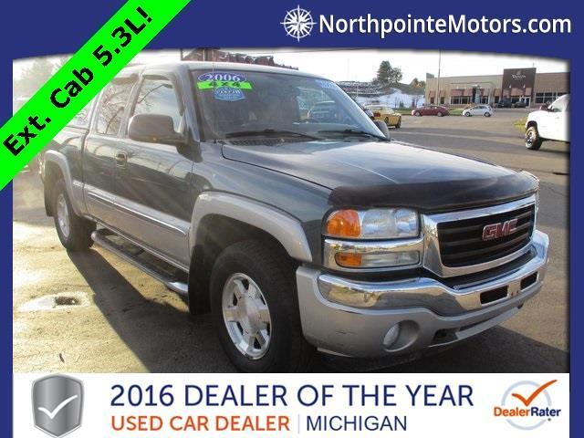 2006 gmc sierra 1500 sle1 sle1 4dr extended cab 4wd 5 8 ft for North point motors traverse city