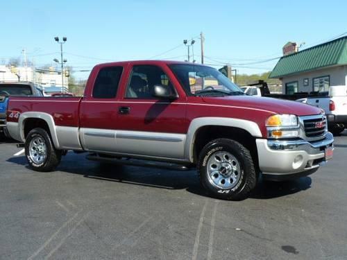 2006 gmc sierra 1500 truck extended cab sle 4x4 for sale in hulmeville pennsylvania classified. Black Bedroom Furniture Sets. Home Design Ideas