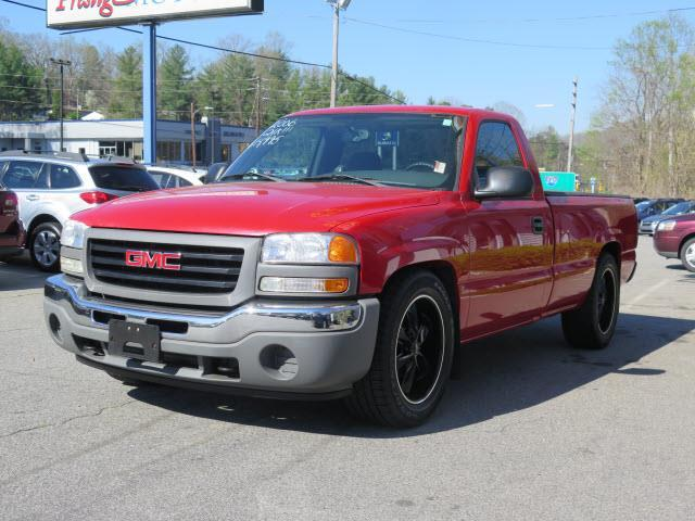 2006 gmc sierra 1500 work truck work truck 2dr regular cab for Miles motors asheville nc