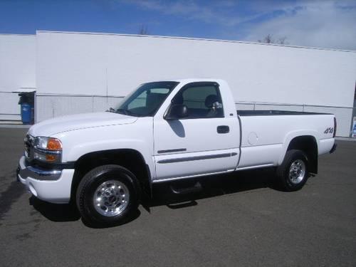 Certified Pre Owned Honda >> 2006 GMC Sierra 2500HD 4x4 Regular Cab 8 ft. box 133 in. WB for Sale in Medford, Oregon ...