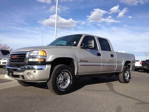 2006 gmc sierra 2500hd crew cab pickup short bed sle1. Black Bedroom Furniture Sets. Home Design Ideas