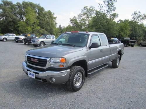 2006 gmc sierra 2500hd extended cab pickup sle1 for sale in clinton new york classified. Black Bedroom Furniture Sets. Home Design Ideas