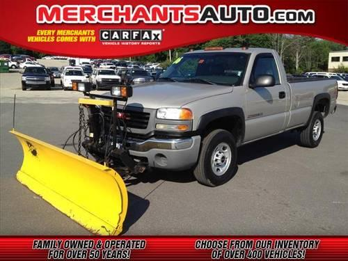 2006 gmc sierra 2500hd regular cab 4x4 sle for sale in manchester new hampshire classified. Black Bedroom Furniture Sets. Home Design Ideas