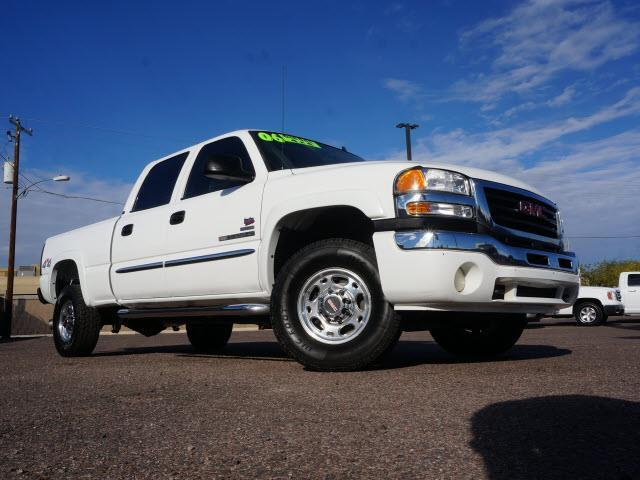 2006 gmc sierra 2500hd work truck work truck 4dr crew cab. Black Bedroom Furniture Sets. Home Design Ideas