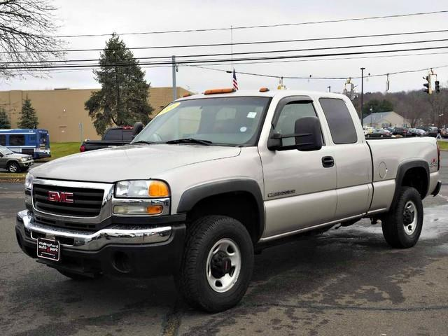 2006 gmc sierra 2500hd work truck work truck 4dr extended cab 4wd sb for sale in wallingford. Black Bedroom Furniture Sets. Home Design Ideas