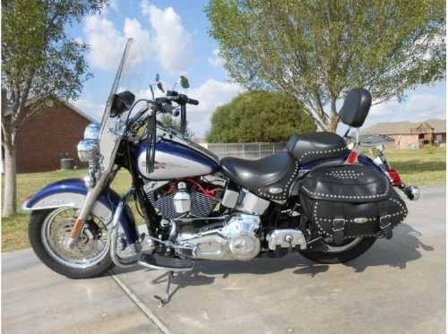 2006 harley davidson flstc heritage softail cruiser in midland tx for sale in midland texas. Black Bedroom Furniture Sets. Home Design Ideas