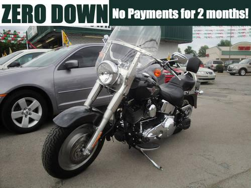 2006 Harley Davidson Softail Fatboy Motorcycle for Sale in