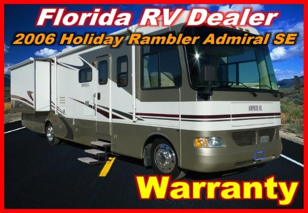 2006 holiday rambler admiral se 34 sbd for sale in port charlotte florida classified. Black Bedroom Furniture Sets. Home Design Ideas