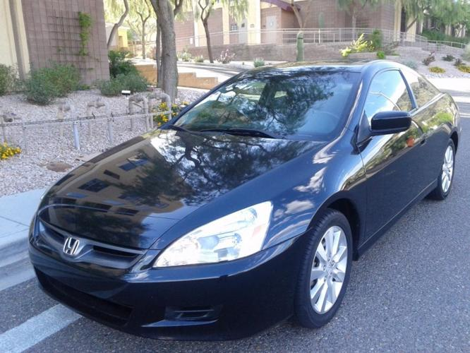2006 honda accord cpe ex l v6 at loaded top of the line for sale in phoenix arizona. Black Bedroom Furniture Sets. Home Design Ideas
