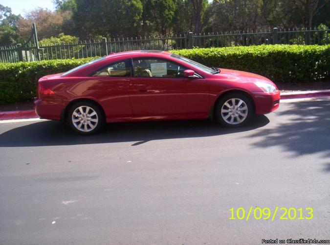 2006 honda accord ex red coupe for sale in austin texas classified. Black Bedroom Furniture Sets. Home Design Ideas