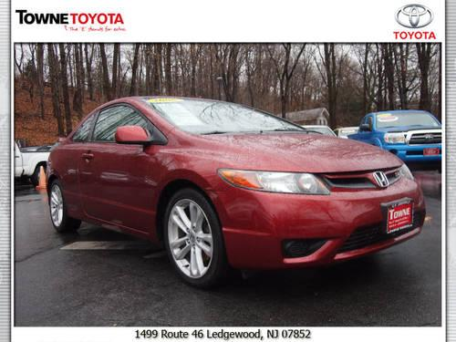2006 honda civic coupe si for sale in ledgewood new jersey classified. Black Bedroom Furniture Sets. Home Design Ideas