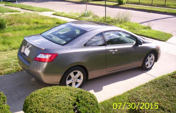 2006 honda civic ex coupe 2 door for sale in detroit michigan classified. Black Bedroom Furniture Sets. Home Design Ideas