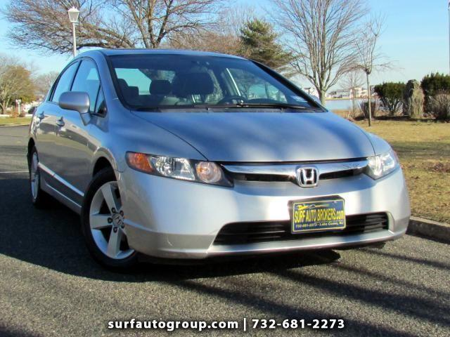 2006 honda civic ex sedan for sale in belmar new jersey. Black Bedroom Furniture Sets. Home Design Ideas