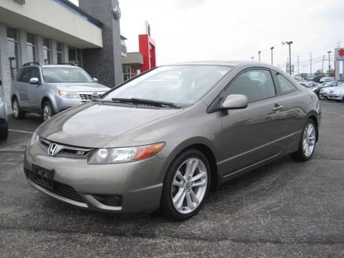 2006 honda civic si coupe manual for sale in cincinnati. Black Bedroom Furniture Sets. Home Design Ideas