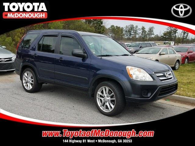 2006 honda cr v lx awd lx 4dr suv for sale in mcdonough georgia classified. Black Bedroom Furniture Sets. Home Design Ideas