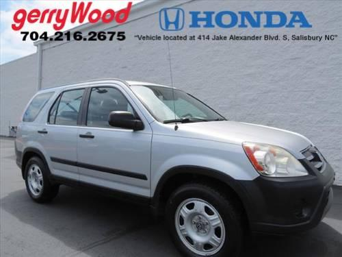 2006 honda cr v suv awd lx for sale in salisbury north carolina classified. Black Bedroom Furniture Sets. Home Design Ideas