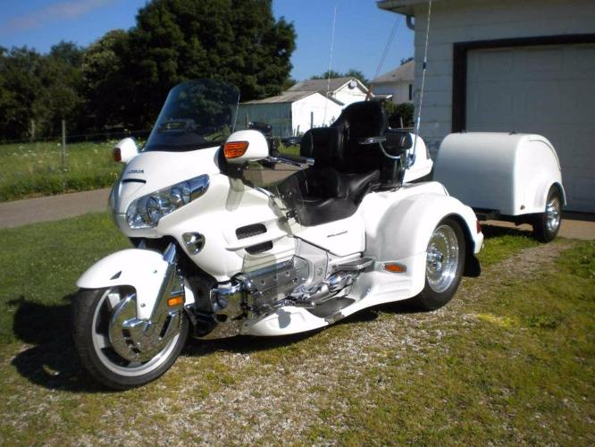 2006 honda goldwing 1800 trike for sale in philadelphia