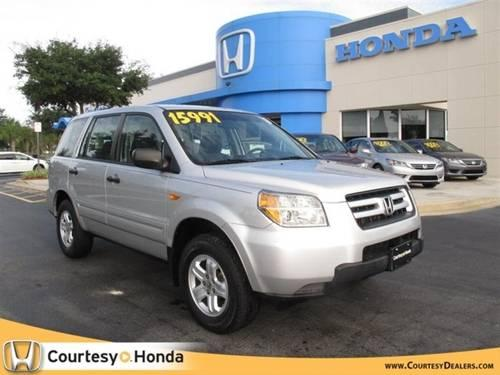 2006 honda pilot suv 2wd lx at for sale in lake forest florida