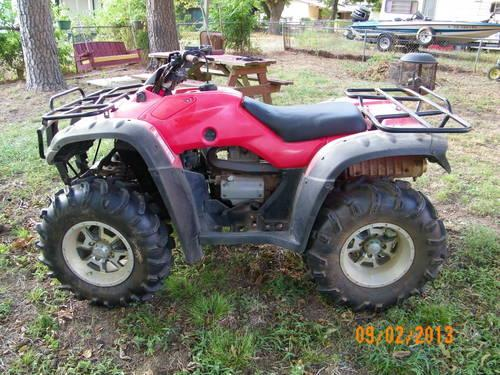2006 honda rancher 350 4x4 low hours for sale in blocker texas classified. Black Bedroom Furniture Sets. Home Design Ideas