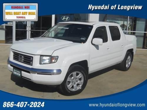 Hyundai Of Longview >> 2006 HONDA Ridgeline Pickup Truck RTL AT with MOONROOF ...