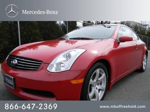 2006 infiniti g35 coupe coupe 2dr cpe auto for sale in east freehold new jersey classified. Black Bedroom Furniture Sets. Home Design Ideas