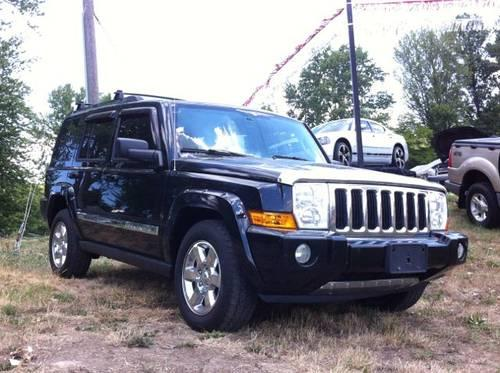 2006 jeep commander 4wd 4d wagon limited hemi limited for sale in fort wayne indiana classified. Black Bedroom Furniture Sets. Home Design Ideas