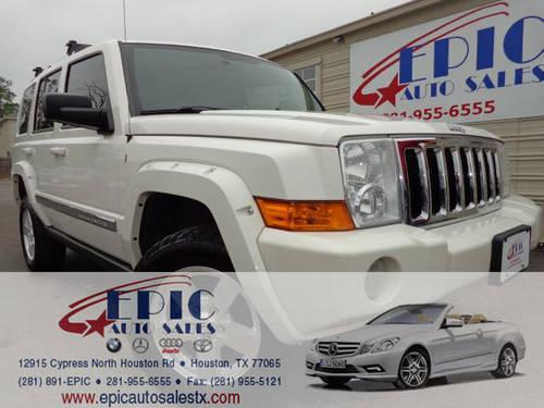 2006 jeep commander limited 2wd epic auto sales used car dealer for sale in houston texas. Black Bedroom Furniture Sets. Home Design Ideas