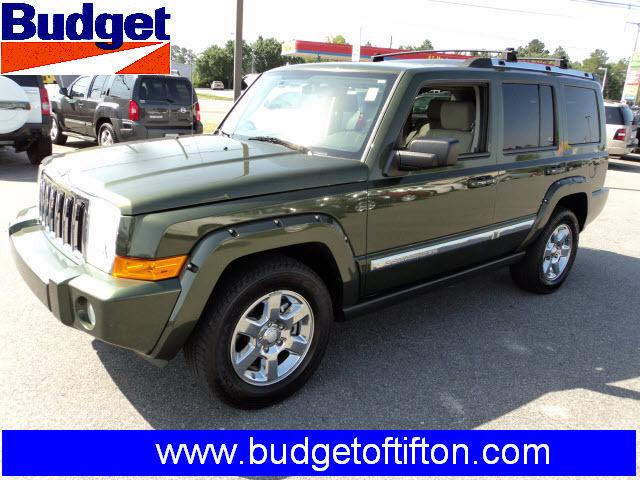 2006 jeep commander limited for sale in tifton georgia classified. Black Bedroom Furniture Sets. Home Design Ideas