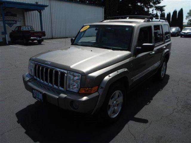 2006 jeep commander limited for sale in mcminnville oregon classified. Black Bedroom Furniture Sets. Home Design Ideas