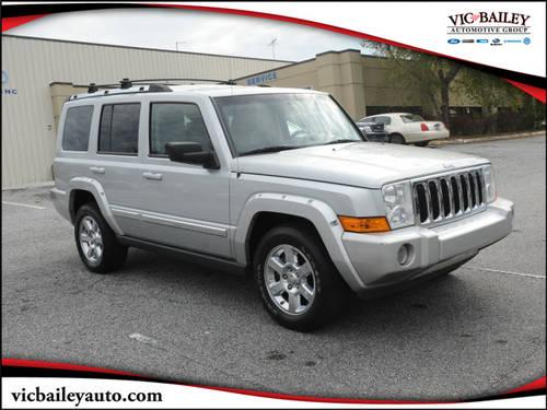 2006 Jeep Commander Suv 4x4 Limited 2006 Jeep Commander