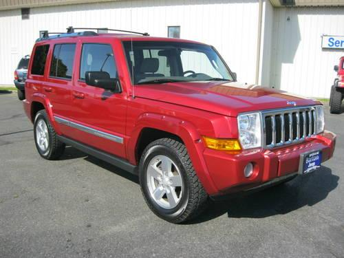2006 jeep commander suv limited for sale in spokane. Black Bedroom Furniture Sets. Home Design Ideas