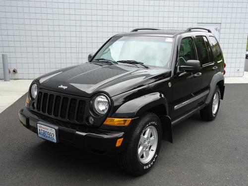 2006 jeep liberty 4 door suv sport for sale in spokane. Black Bedroom Furniture Sets. Home Design Ideas